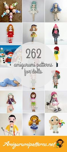 262 Dolls Amigurumi Patterns
