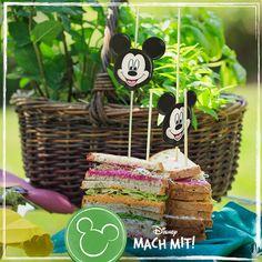 Mickys Regenbogen Sandwich