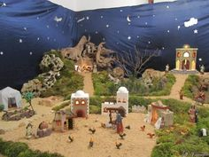 Pin by Crosslin Prince Rayen on christmas crib Christmas Nativity Scene, Ideas Para, Cribs, Projects To Try, Xmas, Display, Wallpaper, Avon, Cable