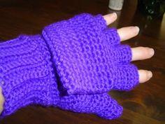 Convertible fingerless mitts