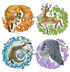 Elements:  Elemental Animals.