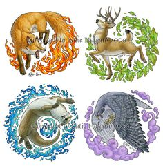 Normally this type of image isn't what I'm particularily intrigued by, but I like this one :) Elemental Animals