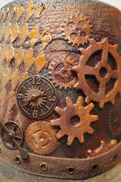 Steampunk Top Hat  •  Free tutorial with pictures on how to make a top hat in under 120 minutes