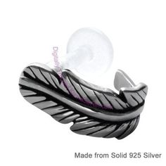 Feather Ear Cuffs for Tragus Piercings get yours at www.karmase7en.com where everything is BOGOF.