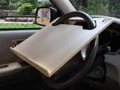 Notebook Mobile Desk » Wheeldesk Wheeldesk Mobile Desk, Truck Boxes, Car Console, Camper Van Conversion Diy, Laptop Desk, Car Gadgets, Truck Camping, Car Storage, Smart Furniture