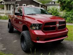 Largest Online Truck Fitment Gallery Browse the largest online truck fitment gallery, curated by enthusiasts, for enthusiasts. Find out what fits your truck and show off your ride! Dodge Ram 4x4, 2013 Dodge Ram, Lifted Dodge, Dodge Ram 1500, Ram Trucks, Dodge Trucks, Lifted Trucks, Cool Trucks, 2014 Ram 1500