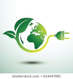 Hands Holding Green Earth Globe Tree Stock Vector (Royalty Free) 617639792 Green eco power plug design with Green earth, vector. Save Earth Drawing, Electricity Logo, Earth Drawings, Earth Logo, Earth Poster, Power Logo, Save Mother Earth, Logo Desing, Composition Design