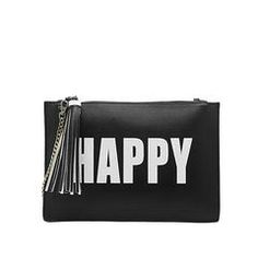 feeling happy or sad? 👀👀 reflect your mood in this happy sad purse!❤😍 https://porschstores.com/collections/featured/products/happy-sad-flat-clutch#.V9bSR5grLIU