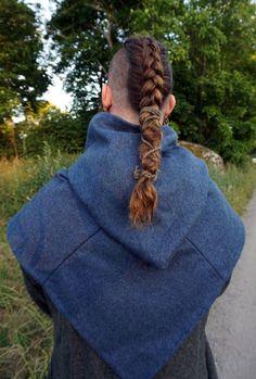 Viking Garb, Viking Costume, Viking Warrior, Vikings, Viking Braids, Dreadlock Styles, Viking Clothing, Character Outfits, Haircuts For Men
