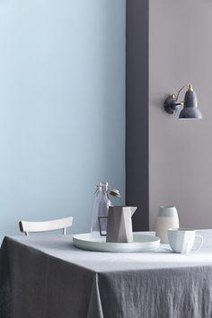 #LittleGreene - Collection Blue - peinture - LITTLE GREENE www.littlegreene.fr/