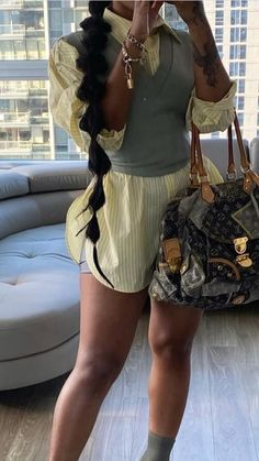 Girls Fall Outfits, Fall Fashion Outfits, Dope Outfits, Cute Casual Outfits, Chic Outfits, Summer Outfits, Swag Outfits, Black Girl Fashion, Look Fashion
