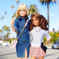 Barbie® @barbiestyle New friends, new ...Instagram photo | Websta (Webstagram)