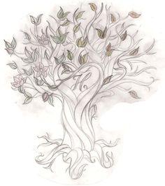 Tree Back Tattoos for Women | tree tattoo designs with names tree tattoo saarsel deviantart tattoos ...