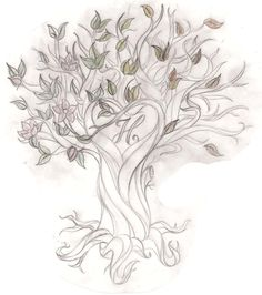 Tree Back Tattoos for Women | tree tattoo designs with names tree tattoo saarsel deviantart tattoos ...