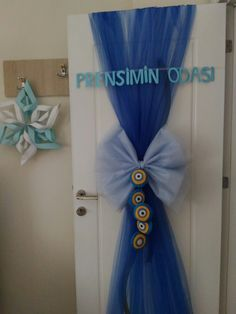 Hospital Room, Entrance Doors, Hanukkah, Baby Shower, Wreaths, Home Decor, Pictures, Doors, Projects
