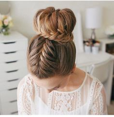 Looking for some hair inspiration for prom this year? Here are 13 ideas we're loving right now! A post shared by Ella Teets ( on May 2018 at PDT A post shared by Taylor Armstrong ( on May 2018 at PDT A post shared by Alyson Trempe … Haircut Styles For Women, Short Haircut Styles, Best Short Haircuts, Braided Hairstyles For Wedding, Unique Hairstyles, Bun Hairstyles, Hairstyle Ideas, Updo Hairstyle, Wedding Updo