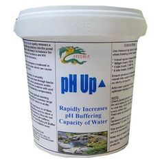 11LB Hydra pH UP Use for Maintaining pH & Alkalinity of Pond Due to Bacterial Action by HYDRA. $76.95. Hydra pH up rapidly releases a pH buffering solution into the pond water to maintain a healthy pH balance.. Immediately rectified pH crashes that can cause fish death.. Free from algae-growth promoting phosphates.. Neutralises excess acids instantly.. Safe for aquatic life, including delicate fish.. Hydra pH Up immediately and easily rectifies the problem of low pH. This pond pr...