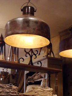 Large Industrial Light Shades
