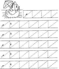 #çizgiçalışmaları#birincisınıf#etkinlikler#okulöncesi#ilkokul#noktalarıbirleştir# Pre Writing, Writing Practice, Writing Skills, Writing Activities, Grade R Worksheets, Handwriting Worksheets, Tracing Worksheets, Preschool Learning, Kindergarten Worksheets