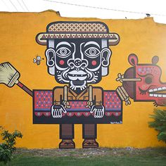 Change a community with art. At Living Walls in ATL they're doing just that