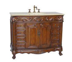 """42"""" Class Style Loehman Bathroom Sink Vanity Cabinet - Model # BA-2882M-TK-42 Chans Furniture,http://www.amazon.com/dp/B00149WXSI/ref=cm_sw_r_pi_dp_5fV0sb03K8V7E285"""