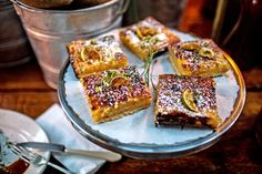 Recipe: Lime squares with raw sugar shortbread || Photo: Adriana Zehbrauskas for The New York Times