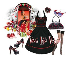 """""""Viva Las Vegas"""" by modern-grease on Polyvore featuring Chantal Thomass, Bettie Page and vintage"""