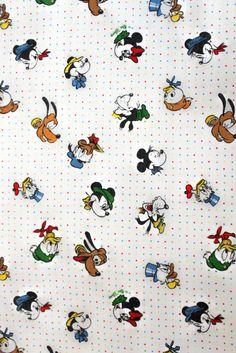 I LOVE this vintage Disney fabric