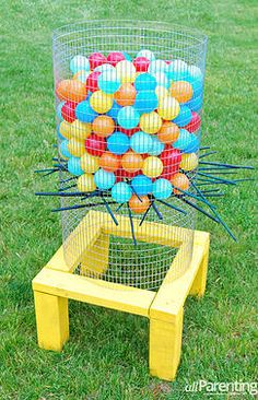 Kaila's Place | 32 DIY Backyard Games