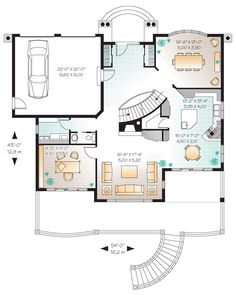 House Plan 65472 at FamilyHomePlans.com