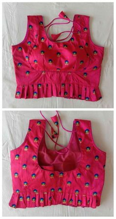 Items similar to Pink Designer Ready-made New Banglori Wedding Saree PHOOL Embroidery Stitched Blouse Crop Sari Top Party Wear Work For Women on Etsy Saree Blouse Neck Designs, Fancy Blouse Designs, Bridal Blouse Designs, Stylish Blouse Design, Designer Blouse Patterns, Designer Dresses, Look Cool, Marriage Advice, Pink
