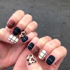 Pin on Nails Navy Nails, Cheetah Nails, Aycrlic Nails, Bling Nails, Red Nails, Swag Nails, Hair And Nails, Really Cute Nails, Cute Nail Art Designs
