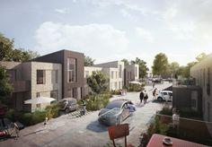 Kantzone / edge / forhave / Aarhus arkitekter