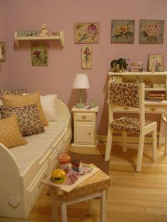 A room diorama 1:6 for blythe