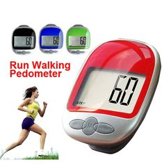 Pedometer - Multi function - Electronic. Second Generation Large Screen New. Ships in Random Colors.