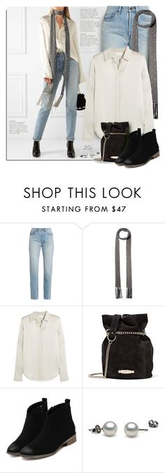 """""""Minimalist Elegance"""" by breathing-style ❤ liked on Polyvore featuring Yves Saint Laurent, Valentino, Chloé and Lanvin"""