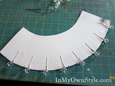 Diy chandelier shade covers crafts diy for the home how to make a chandelier shade cover aloadofball Gallery