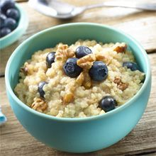Start your day the right way! Goya's recipe for Quinoa with Blueberries is the perfect healthy and delicious breakfast!