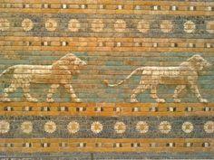 Paseo ceremonial de Babilonia - Museo de Pérgamo (Berlín)