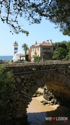 Santa Marta Lighthouse-Museum - Climb to the top of its 8 metres tower to be treated with amazing views over Cascais and the Atlantic Ocean Santa Marta, Fishing Villages, Atlantic Ocean, Lighthouses, Lightning, Climbing, Portugal, Tower, Museum
