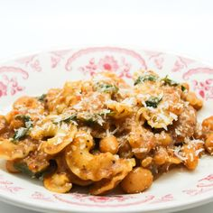 The New Jersey chef shares a beloved family meal recipe for a hearty pasta cooked with beans and guanciale.
