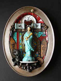carolyn machado, artist / mosaic assemblages portfolio