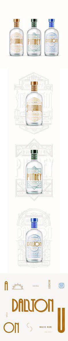 T&M Liquor's Spirits Are Where Modern Meets Vintage — The Dieline   Packaging & Branding Design & Innovation News