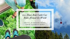"""From San Francisco to South Africa, we have all the amazing cable car rides from all over the world in one place! When I thought of """"cable cars"""", growing up in Hiroshima and living my adult life in San Francisco, I automatically think of the trolleys on the streets with cables connected to them on..."""