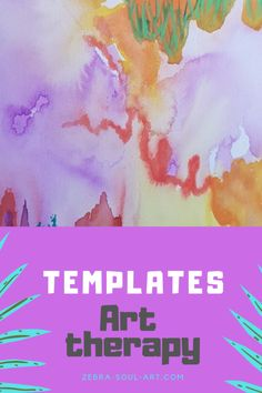 Get your free art therapy templates on my page. #arttherapy #arttherapyexercises #templates for free Art Therapy Projects, Art Therapy Activities, Therapy Ideas, Therapy Worksheets, Health Activities, Claude Monet, Art Therapy Directives, Art Prompts, Journal Prompts