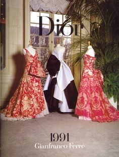 emariam:    Christian Dior Couture, 1991  scanned by me