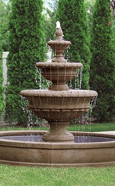 Chanticleer Fountain...how great would this look in my front yard!?!!!!