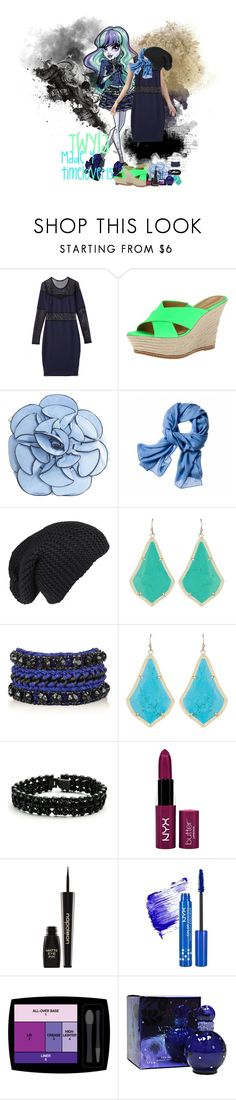 """Twyla Summer Outfit"" by spectrastarlight ❤ liked on Polyvore featuring Forever 21, Nine West, Marc, Reed Krakoff, Kendra Scott, Venessa Arizaga, DANNIJO, Napoleon Perdis, NYX and Lancôme"