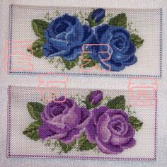 This Pin was discovered by Eda Cross Stitch Rose, Stitch 2, Cross Stitch Flowers, Cross Stitching, Cross Stitch Embroidery, Cross Stitch Patterns, Cross Tree, Roses And Violets, Needle And Thread