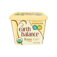 Our products are 100% Plant-Made, non-GMO, and trans fat-free. With plant-based buttery spreads, nut butters and snacks, Earth benefits from your indulgence.